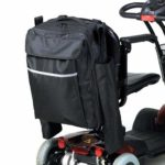 mobility scooter bag with crutch holder
