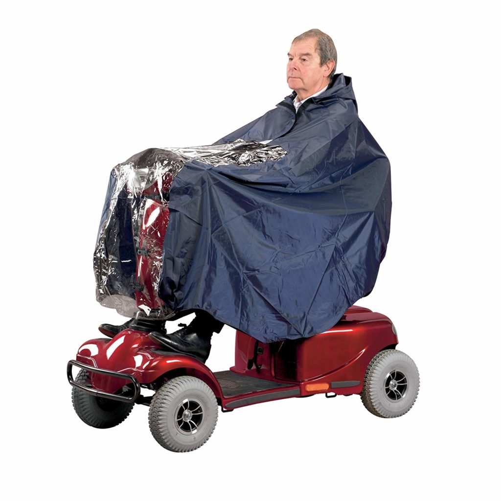 mobility scooter weatherproof cape